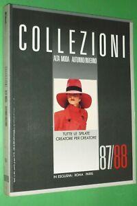 Revista-Raro-Collezioni-Donna-N-4-Otono-Invierno-1987-88-Moda-Disenador