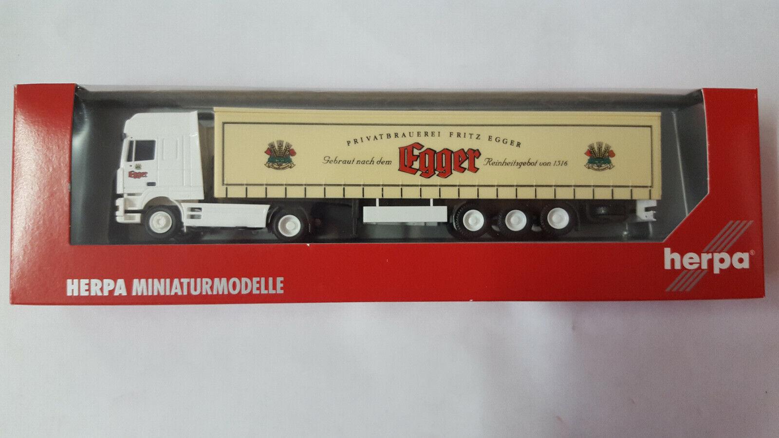Herpa o AWM AWM AWM DAF gardineplanen remolcarse Egger cerveza Austria (a) 1 87 ec1ef3