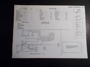 details about 1972 1973 motor mercury comet \u0026 ford maverick vacuum \u0026 wiring diagrams Ford Truck Engine Wiring Diagram