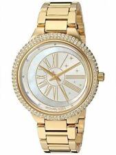 Michael Kors MK6550 Taryn Women's Gold Tone Glitz Stainless Steel Watch
