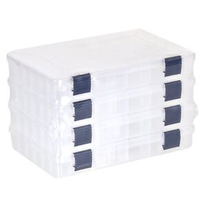 Plano 2-3600 Prolatch Stowaway Utility Box (4-Pack) New