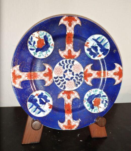 100% Vero Piatto Cinese Porcellana Vecchia Cina Chinese Old China Dish Asiatika Porcelain Vendita Calda 50-70% Di Sconto