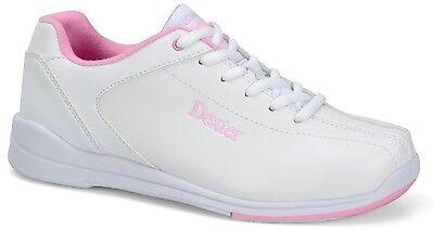 Dexter Raquel IV Women's Bowling Shoes White Pink