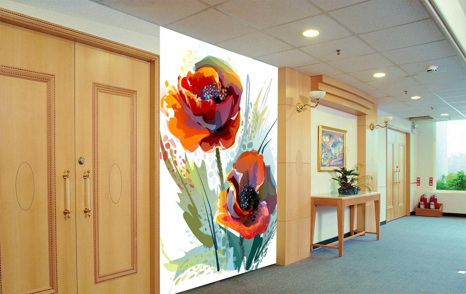 3D Aquarell Rosa 854 Tapete Tapete Tapete Wandgemälde Tapete Tapeten Bild Familie DE Summer | Heißer Verkauf  | Deutschland Shop  | Online einkaufen  243225