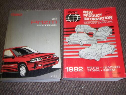 Auto Parts & Accessories Repair Manuals & Literature 1992 Chevy ...