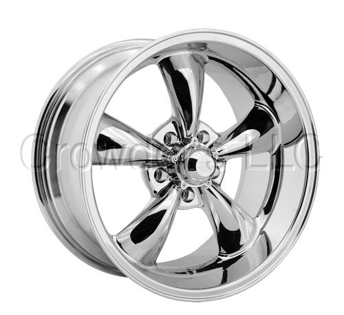 Rev 100 Car Truck Wheel Rim 15 inch 5 Lug Chrome