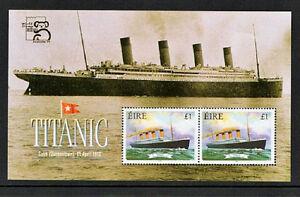 TITANIC-IRELAND-1999-FX30-AUSTRALIA-EXHIBITION-MINIATURE-SHEET-SCARCE