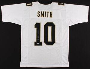 New-Orleans-Saints-Tre-039-Quan-Smith-Signed-Football-Jersey-JSA-Authentic-Autograph