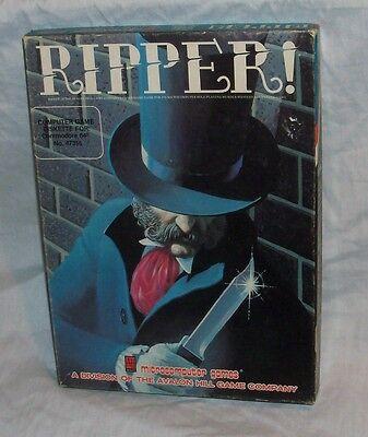 RARE 1984 Jack the Ripper Avalon Hill Computer Game COMMODORE 64 UNUSED!!