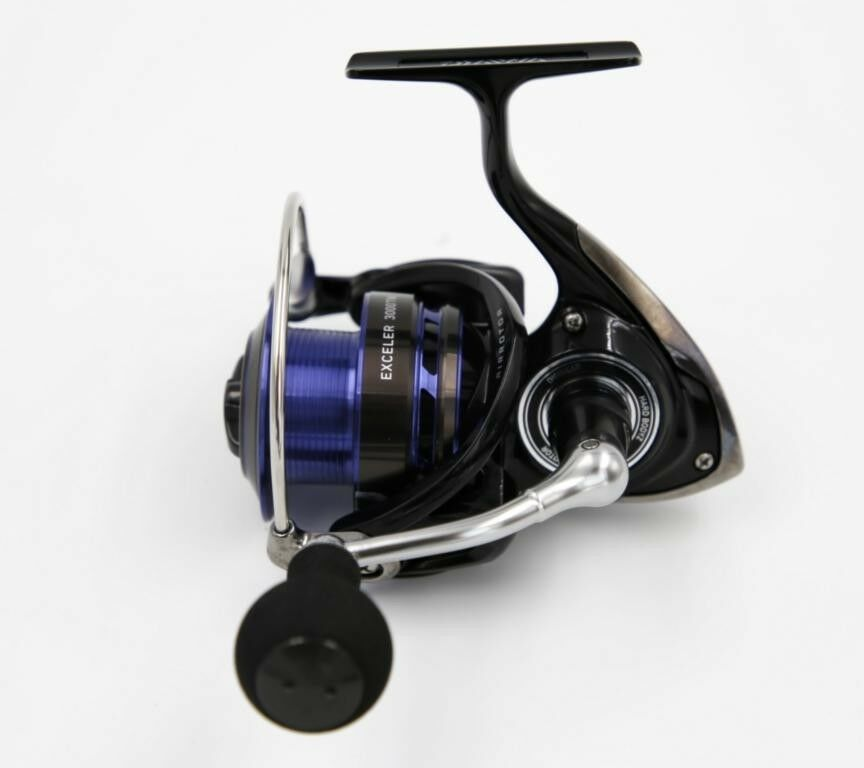 DAIWA EXCELER 3000tw spinnrolle frontbremsrolle Angel Ruolo