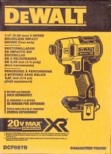 DEWALT-DCF887B-1-4-034-20-VOLT-20V-BRUSHLESS-IMPACT-DRIVER-3800IPM-RETAIL-BOX-NEW