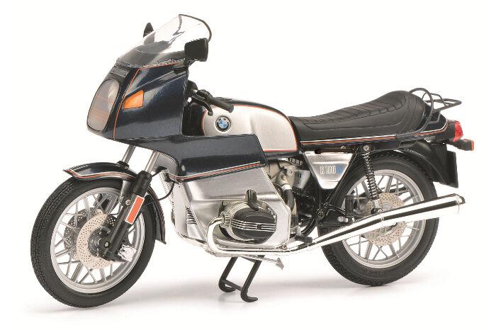 SCHUCO  BMW R 100 RS  bluemet.   silver  1 10  06508