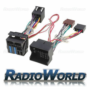 Ford-Fiesta-Focus-Mondeo-Transit-Handsfree-Bluetooth-Parrot-Adaptor-ISO-Lead