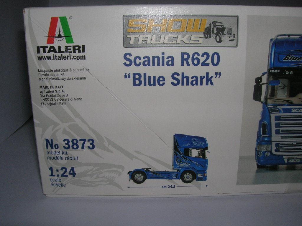 ITALERI 3850 Scania R620 Atelier Truck Kit échelle 1:24