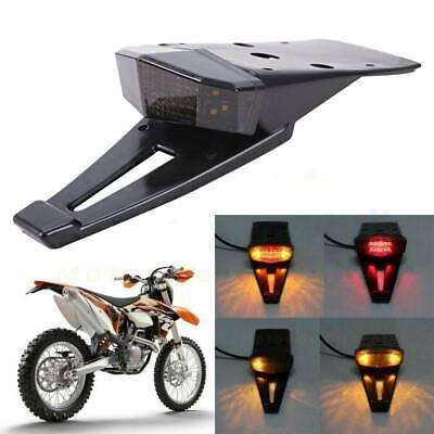 SING F LTD 12V Universal Motorcycle Brake Tail Light Dirt Enduro Bike LED Rear Fender Turn Signal Lights