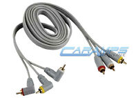 6 Ft Premium 3 Rca Gold Platred Composite Extension Cable A/v Audio Video Av