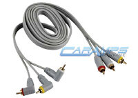 6 Ft Premium 3 Rca Gold Platred Composite Extension Cable A/v Audio Video Av