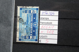 FRANCOBOLLI-ITALIA-REGNO-USATI-N-302-A56265