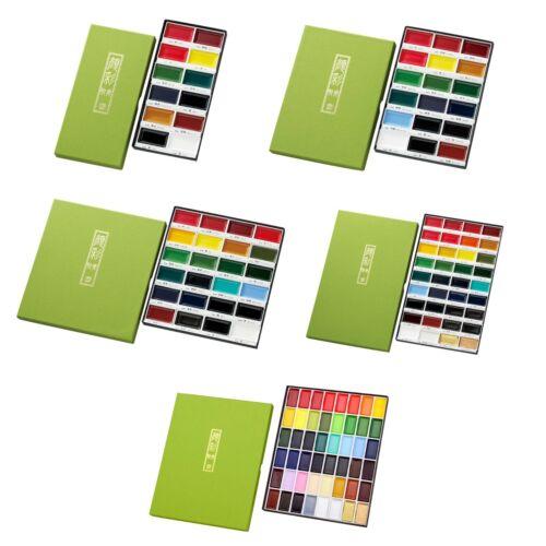NEW Kuretake Japanese Watercolor Paint Gansai Tanbi Colors Set MC20 F//S Japan