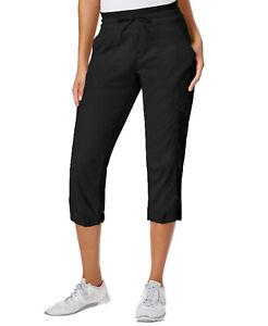 The-North-Face-Women-039-s-Aphrodite-Wicking-Capri-Pants-Black-Size-2-Extra-Large