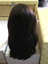Doll WIG ~ Cozy Coat & Dressy Dress ~ long brown hair - Tonner Ellowyne Wilde