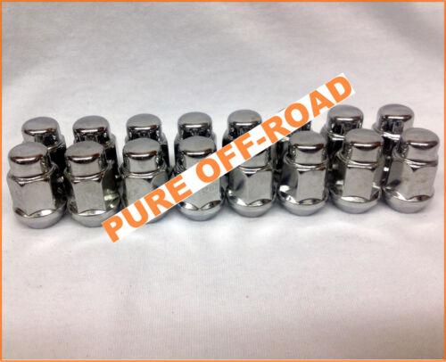 Yamaha Viking Chrome Tapered Lug Nuts Set of 16 12mm x 1.25 12x1.25