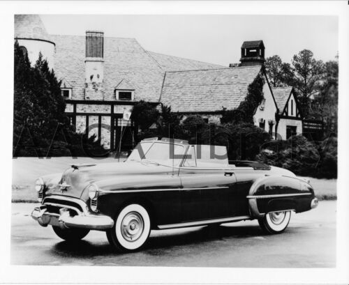 Factory Photo 1950 Oldsmobile 88 Deluxe Convertible Coupe Ref. #60571