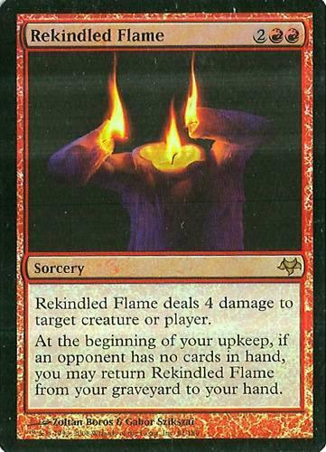 Eventide NM Foil MTG Rekindled Flame
