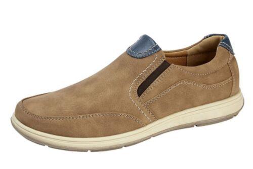 Homme Faux Nubuck Cuir Bateau Yachting Deck été Chaussures à Enfiler Escarpins 6-12