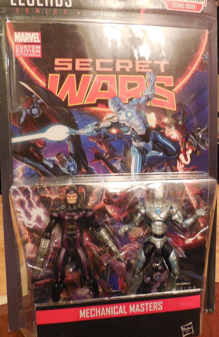 """MARVEL Legends /""""SUPERIOR IRON MAN /& Machine Man/"""" 2-Pack Secret Wars FUMETTO SPEC."""