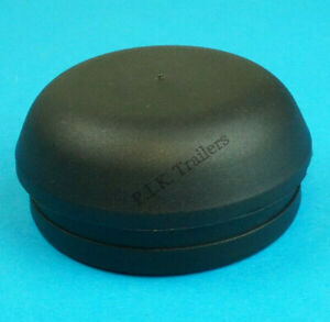 1-x-Black-72mm-Wheel-Hub-Grease-Cap-IFOR-WILLIAMS-Trailer-with-ALKO-Brakes-81-92