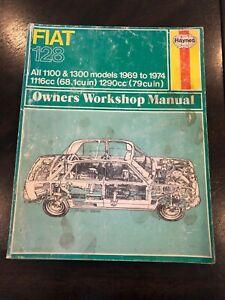 1969-1974-Fiat-128-Haynes-Service-Repair-Owners-Workshop-Manual-Number-087