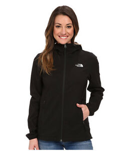 f47691eb7 Details about NWT The North Face Nimble Hoodie Black Hiking Jacket Women's  Size Medium