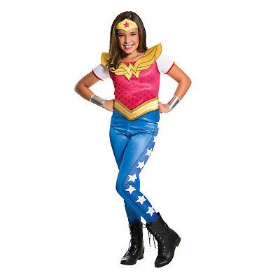 Rubie's DC Superhero TV Series, Wonder Woman Childs / Girls Fancy Dress Costume