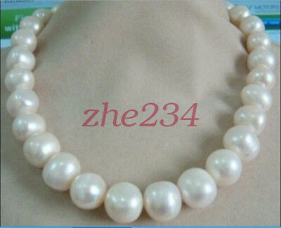 """10 Set Love Wish Pearl Collier Set Oyster Drop Pendentif 17/""""AAA"""