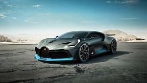 Iconic Arts Supercar- Bugatti Divo Laminated 24x36 Poster