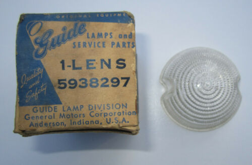 1951-1953 Buick Special Back-Up Lens NOS in Original Box OEM #5938297