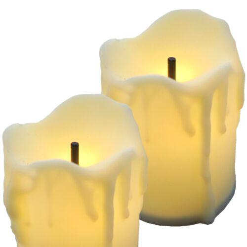 12 x LED Kerzen warmweiß Teelichter Lichter Dekoration inkl Batterie 31567
