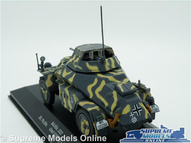 SD. KFZ 222 20 pz. Div Modelo Tanque Tambov Tambov Tambov USSR 1 43 escala 1943 Militar Ejército K8Q 2c1164