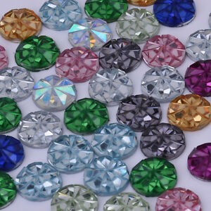 10mm-Round-Druzy-Resin-Embellishment-Cabochons-Prism-Cabochons-Glitter-Cabochons