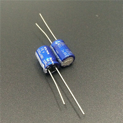 10pcs 16V 330uF 16V Japan ELNA RE2 8x11.5mm Audio Capacitor