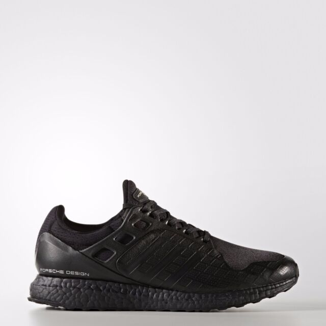 Adidas x Porsche Design Ultra Boost size 8.5. Triple Black. S81203. nmd