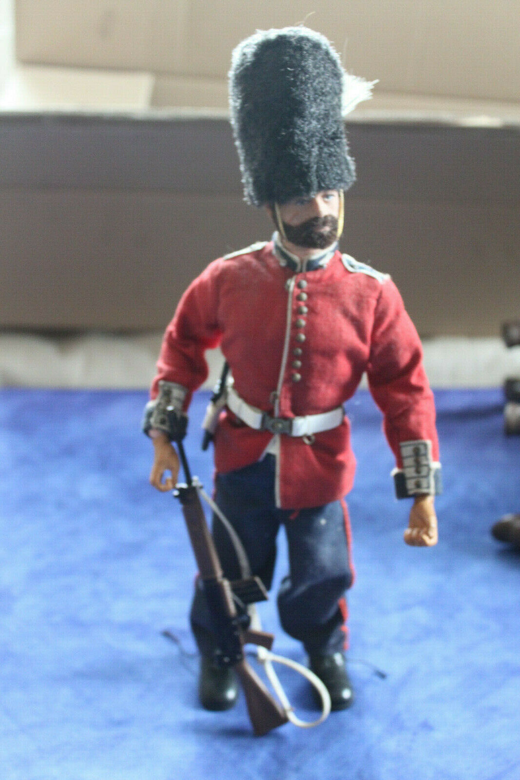 Action man gijoe 1964 et tenue garde garde garde anglais british soldat 1975 palitoys 540a1c