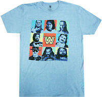 "Official Wwe Wrestling Legends Adult T-shirt - Shawn Michaels Jake ""the Snake"".."