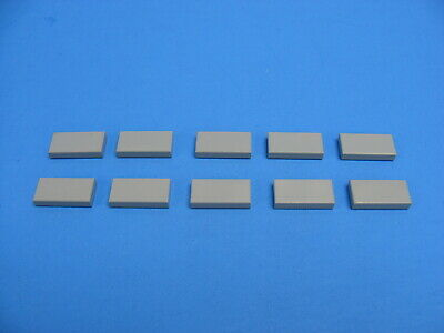 8 x lego 30070 Plate Smooth Trans-Blue Flat Tile 1x2 with Groove New New