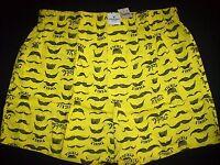 American Eagle Underwear Men 1 Pr Boxer Xs S M L Xl Xxl Xxxl Mustache Tickle