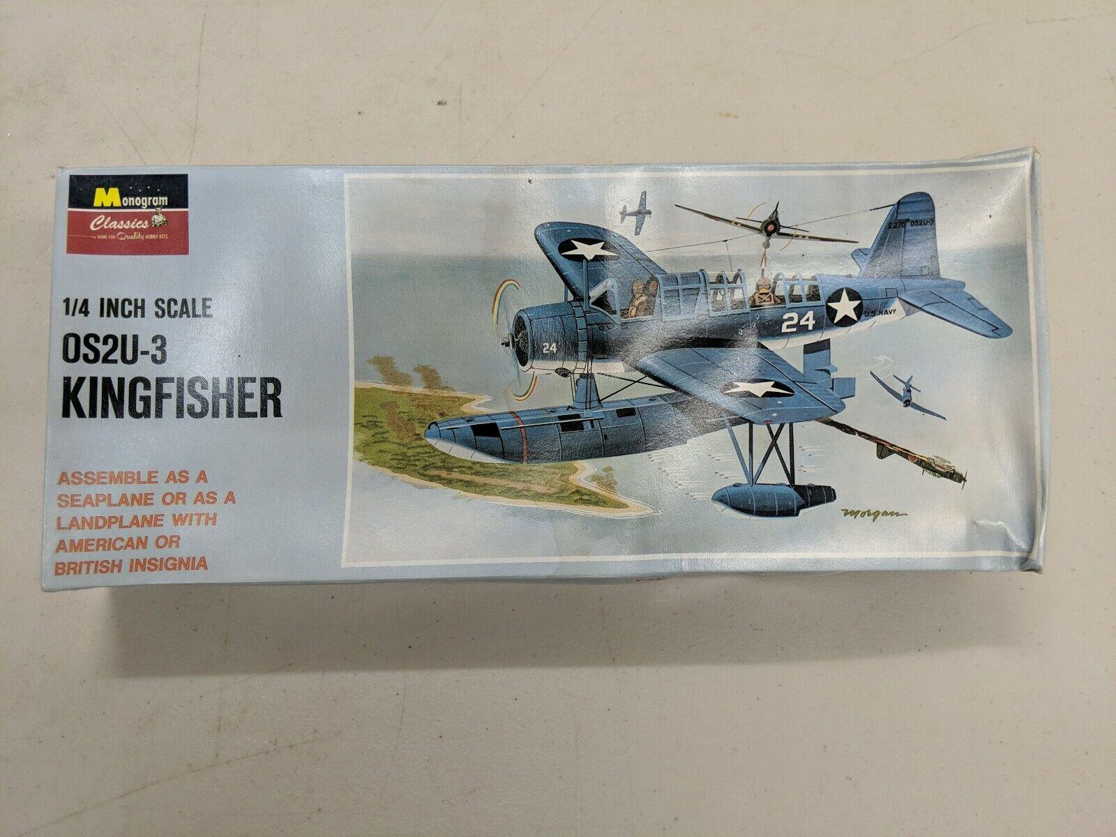"AZ Models 1//72 OS2U Kingfisher /""US service/"" plastic kit"