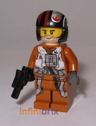 Lego Poe Dameron Pilot from Set 75102 Poe's X-wing Fighter Star Wars NEW sw658 Baukästen & Konstruktion LEGO Bau- & Konstruktionsspielzeug