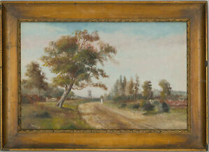 Charles-Frederick-Rump-Signed-amp-Framed-Early-20th-Century-Oil-Worthington