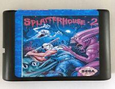 Games Cartridge Splatter house 2 For 16 bit Sega Mega Drive Genesis Sega Game